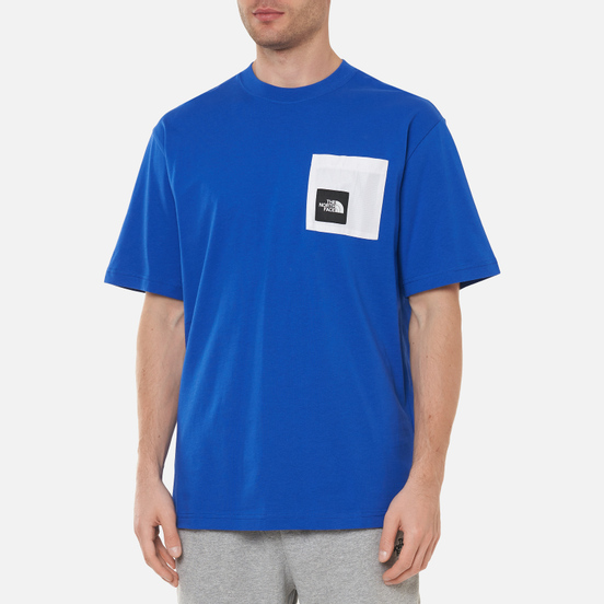 Мужская футболка The North Face Black Box Search And Rescue Pocket TNF Blue