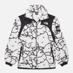 Женская куртка The North Face Black Box Search And Rescue Oversize Sherpa TNF White Shan Mar Search/Rescue Print