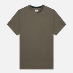 Мужская футболка The North Face Zumu New Taupe Green