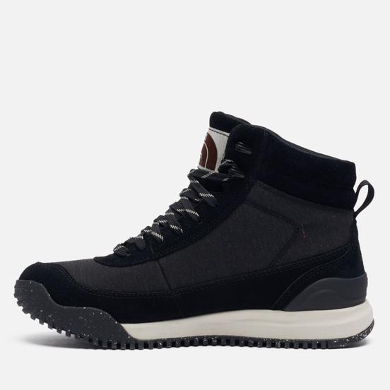 Мужские ботинки The North Face Back To Berkeley III Regrind Waterproof TNF Black/Vintage White