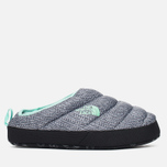 Женские тапочки The North Face Nuptse Tent Mules III Grey/Blue фото- 0