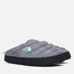 Женские тапочки The North Face Nuptse Tent Mules III Grey/Blue фото- 1