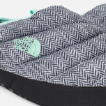 Женские тапочки The North Face Nuptse Tent Mules III Grey/Blue фото- 5