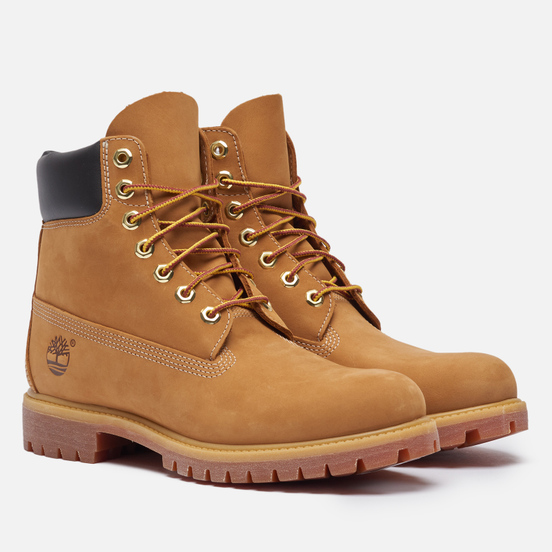 Мужские ботинки Timberland 6 Inch Premium Waterproof Wheat