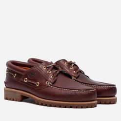 Мужские ботинки Timberland Authentics 3-Eye Burgundy Full Grain