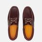 Мужские ботинки Timberland Authentics 3-Eye Burgundy Full Grain фото - 1