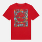 Мужская футболка Timberland Chinese New Year Stack Logo Barbados Cherry фото - 0