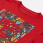 Мужская футболка Timberland Chinese New Year Stack Logo Barbados Cherry фото - 1