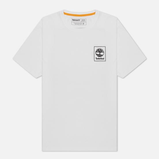Мужская футболка Timberland Back Camo Tree White