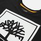 Мужская футболка Timberland Stack Logo Black/White фото - 1