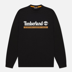 Мужская толстовка Timberland Established 1973 Crew Neck Black/White Boot