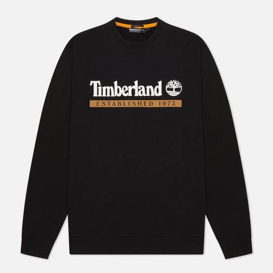 Мужская толстовка Timberland Established 1973 Crew Neck Black/White Boot