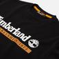 Мужская толстовка Timberland Established 1973 Crew Neck Black/White Boot фото - 1