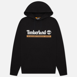 Мужская толстовка Timberland Established 1973 Hoodie Black/White Boot