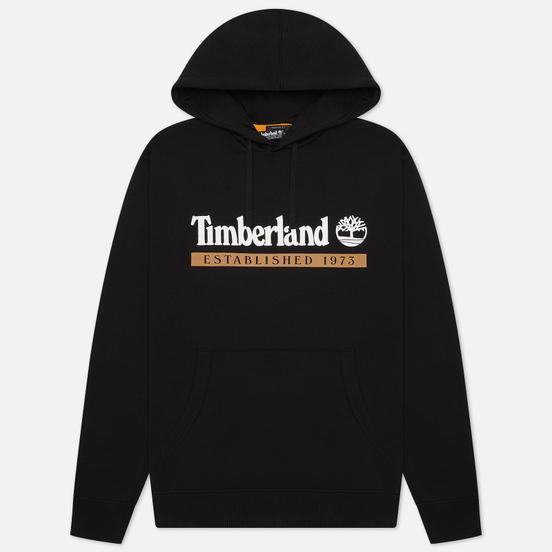 Мужская толстовка Timberland Established 1973 Hoodie Black/White Boot
