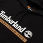 Мужская толстовка Timberland Established 1973 Hoodie Black/White Boot фото - 1