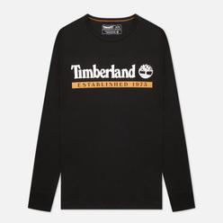 Мужской лонгслив Timberland LS Established 1973 Black/Wheat Boot