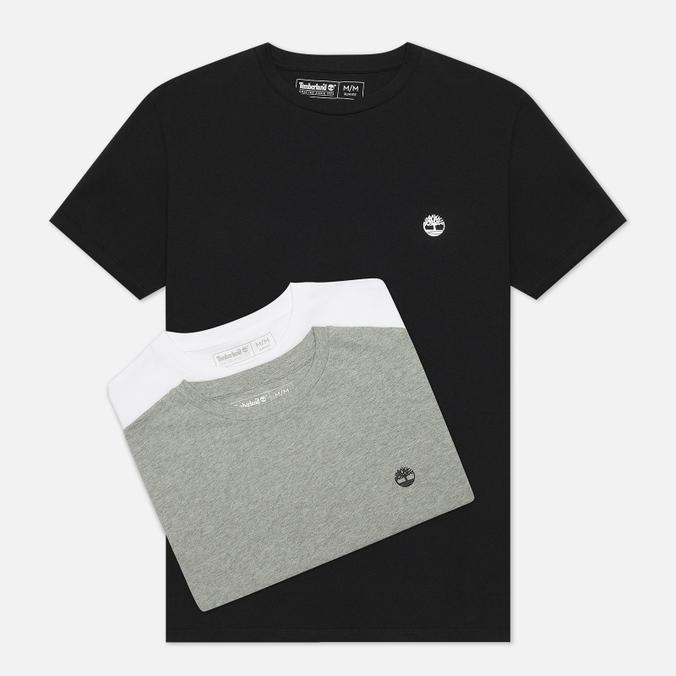 Комплект мужских футболок Timberland 3-Pack Basic Jersey Crew