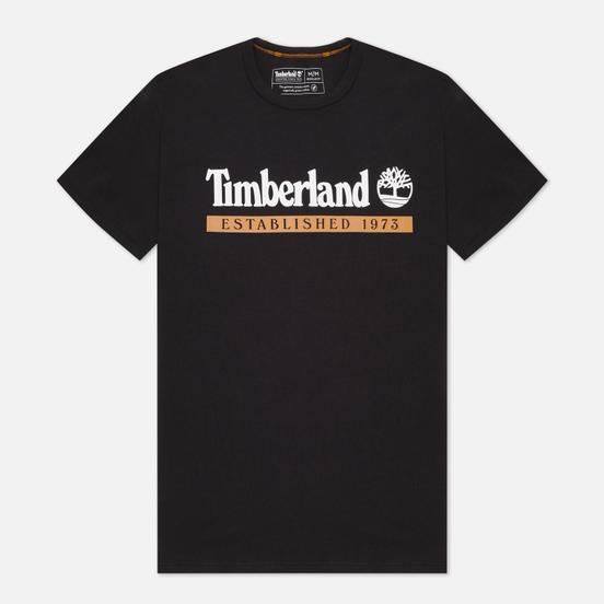 Мужская футболка Timberland Established 1973 Black/Wheat Boot