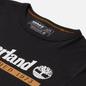 Мужская футболка Timberland Established 1973 Black/Wheat Boot фото - 1