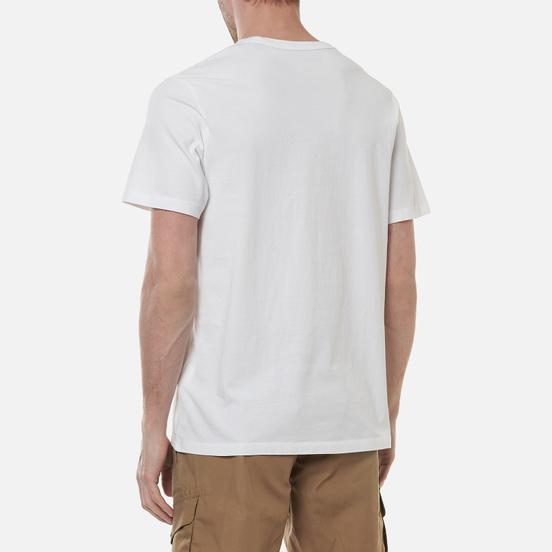 Мужская футболка Timberland Kennebec River Logo White