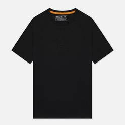 Мужская футболка Timberland SS Heavyweight Stack Logo Black