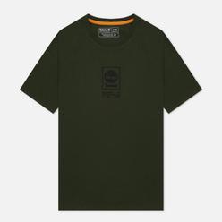 Мужская футболка Timberland SS Heavyweight Stack Logo Duffel Bag