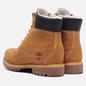 Мужские ботинки Timberland 6 Inch Premium Waterproof Warm Lined Wheat Nubuck фото - 2