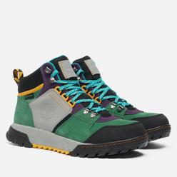 Мужские ботинки Timberland Boulder Trail Mid Waterproof Medium Green Suede