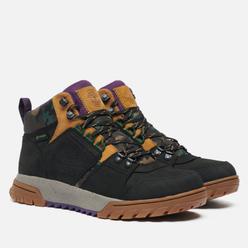 Мужские ботинки Timberland Boulder Trail Mid Waterproof Black Nubuck/Camo