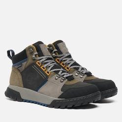 Мужские ботинки Timberland Boulder Trail Mid Waterproof Brown Suede