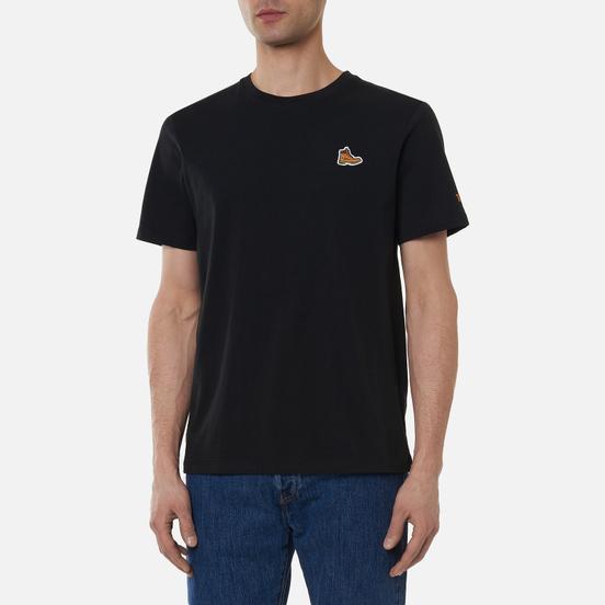 Мужская футболка Timberland Boot Logo Black