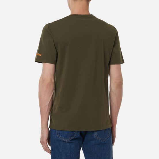 Мужская футболка Timberland Boot Logo Grape Leaf
