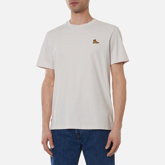 Мужская футболка Timberland Boot Logo White Sand