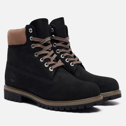 Мужские ботинки Timberland 6 Inch Premium Waterproof Black Nubuck
