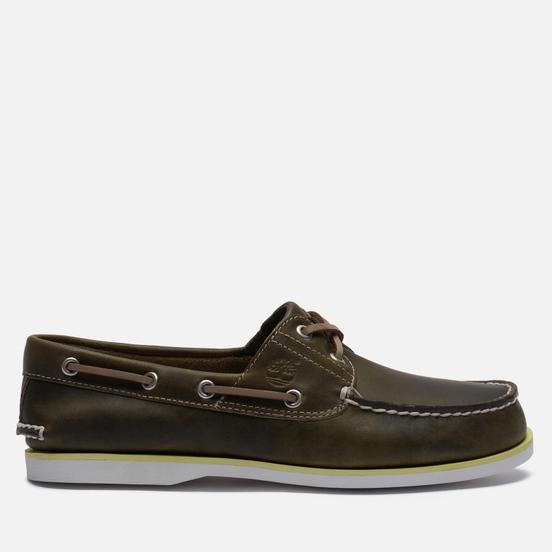 Мужские ботинки Timberland 2-Eye Classic Leather Olive Full/Grain