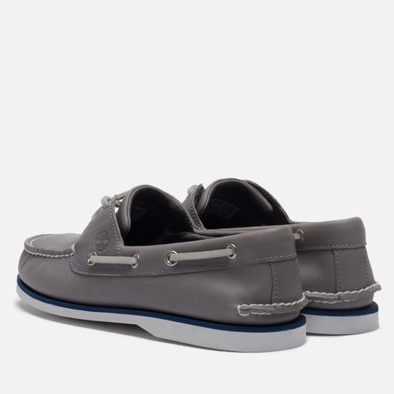 Мужские ботинки Timberland 2-Eye Classic Leather Medium Grey Full/Grain