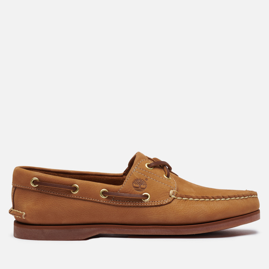 Мужские ботинки Timberland 2-Eye Classic Leather Medium Beige Nubuck