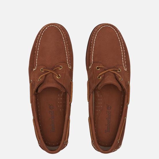 Мужские ботинки Timberland 2-Eye Classic Leather Rust Nubuck