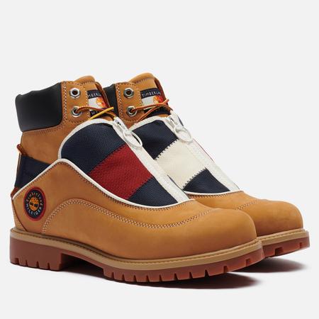 Мужские ботинки Timberland x Tommy Hilfiger Heritage EK+ Waterproof, цвет коричневый, размер 43.5 EU
