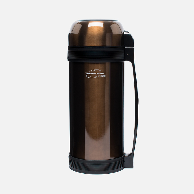 Thermos Lucky Vacuum 2L Thermos Brown