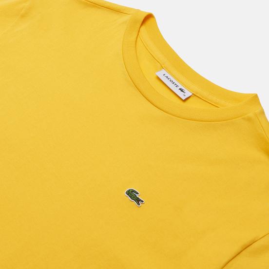 Женская футболка Lacoste Crew Neck Premium Cotton Wasp Yellow