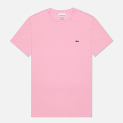 Мужская футболка Lacoste Crew Neck Pima Cotton Light Pink