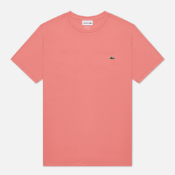 Мужская футболка Lacoste Crew Neck Pima Cotton Amaryllis