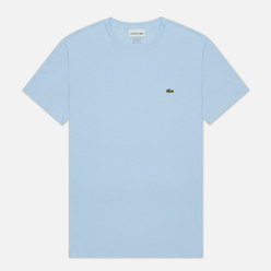 Мужская футболка Lacoste Crew Neck Pima Cotton Overview