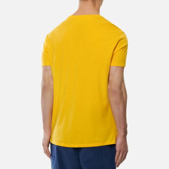 Мужская футболка Lacoste Crew Neck Pima Cotton Yellow/Green