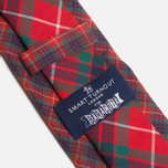 Мужской галстук Baracuta Narrow Tie Red фото- 1