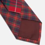 Мужской галстук Baracuta Narrow Tie Red фото- 3