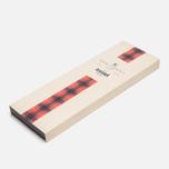 Мужской галстук Baracuta Narrow Tie Red фото- 4