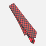 Мужской галстук Baracuta Narrow Tie Red фото- 2
